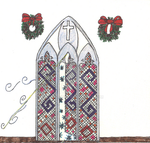 2016 Art Challenge - January - Cathedral Window by Tamuril2