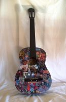 Iron Maiden Guitar..full photo by oche