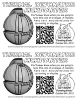 Thermal Detonator Flyer by The-Oubliette