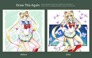Draw This Again: Super Sailor Moon by ToxicStarStudio