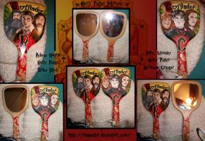 Commish: Harry Potter Mirrors by MoPotter