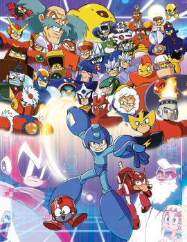 ROCK IT - Mega Man Tribute by DanSchoening
