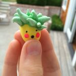Surprised pineapple charm! by Forgottenforest99