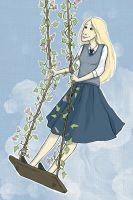 Luna Lovegood for LuxxyMare144 by Svenly