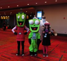 More Invader Zim Cosplay by cubseidl
