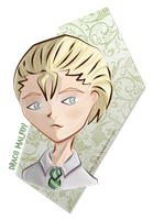 Draco Malfoy by s-lilly