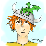 Hiccup Book Version by InsidiousDragon