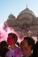 Holi Festival of Colours 05 by obviologist