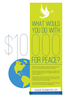 Projects for Peace Poster by inkWanderer