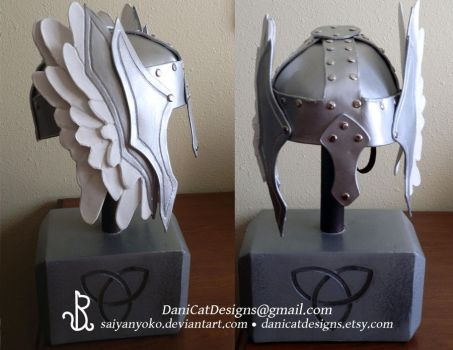 Custom Thor Helm by saiyanyoko