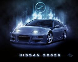 Nissan 300zx by Vectortrance