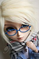 With new eyeglasses 01 by mydollshouse