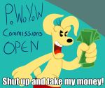 Shut Up and Pay What You Want! by Alvah-and-Friends
