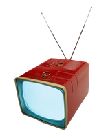 Retro TV transparent PNG by AbsurdWordPreferred