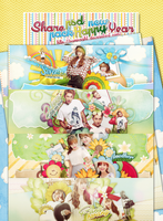 SHARE PACK PSD / HAPPY NEW YEAR 2015 by Sunpaght
