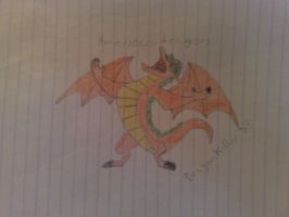 my second american dragon pic by dragonkiller38