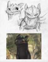 Toothless by durpface0