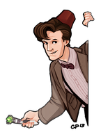 11th Doctor by CPatten