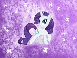 Rarity Wallpaper by Brightshadow813