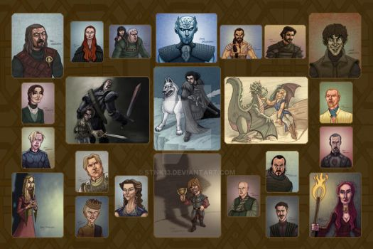 Game of Thrones Collage by Stnk13