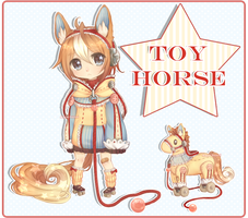 Toy Horse (Closed) by AQUA-Bunni