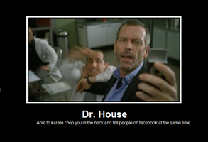 Dr House: the new Chuck Norris by Moovar
