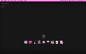 GUCCI PINK SCREEN FOR MAC OSX by tunerbarbie