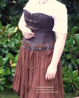 Brass and Copper Chainmail Belt - Display Outfit by ulfchild