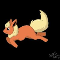 Day 04 - Favourite Eevolution: Flareon by kavic