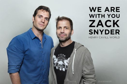 We Are With You Zack Snyder by urielwelsh