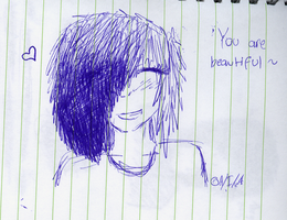 You are beautiful, just the way you are (: by Itamichiro