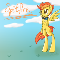 Spitfire Anthro - Mlp by minty-red