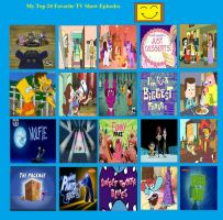 My Top 20 Favorite TV Show Episodes by Toongirl18