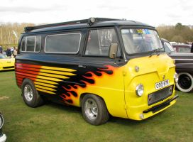 62 ford van by smevcars