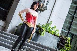 Wonder Woman (Diana Prince) by KeeseyCosplay