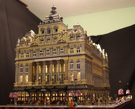 Her Majesty's Theatre, London: Front View by JanetVanD