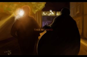 Take My Hand -And Take My Whole Life,Too by SaerwenApsenniel