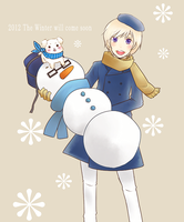 i want to enjoy the winter by tina-Kazusa