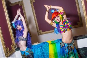 New York Comic Con 2015 - Belly Prancers'(PS) 06 by VideoGameStupid