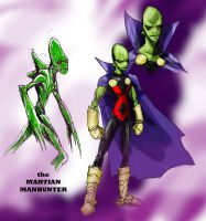 Martian Manhunter by RtRadke