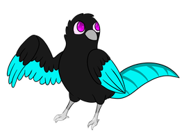 :PA: Frost! New Bird Character! by AlphaaCrest