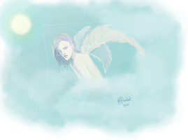 The Lonely Angel by Asteyni