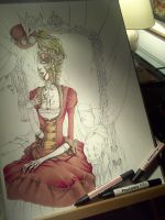 Lady Doll vol.2 cover -work in progress- by Lady-Valiant