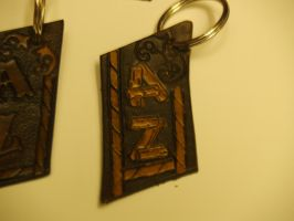 A Couple O Key Chains by moonknight420