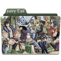 Fairy Tail Folder by sostomate9