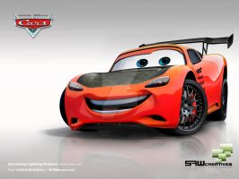 Lightning McQueen tunerVERSION by yasiddesign