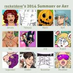 2014 Summary of Art by rocketdave