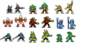 Remastered Robot Masters by Re-evolution360