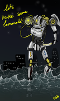 Aperture Science Jaeger: Combustible lemon by Dr-Bowman