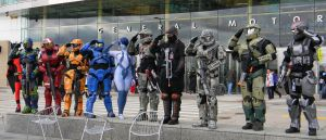 Spartan Team by EndOfGreatness